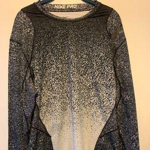 Size XL Athletic Long Sleeve NIKE Dri-Fit Shirt